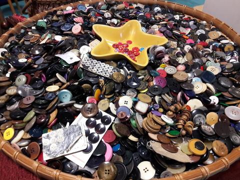 Collection de bouton, il y en a pour tous les goûts