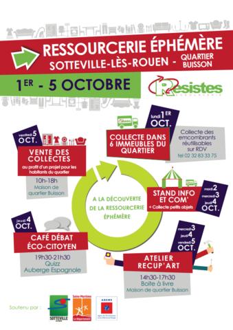 Ressourcerie éphémère, Sotteville-lès-rouen